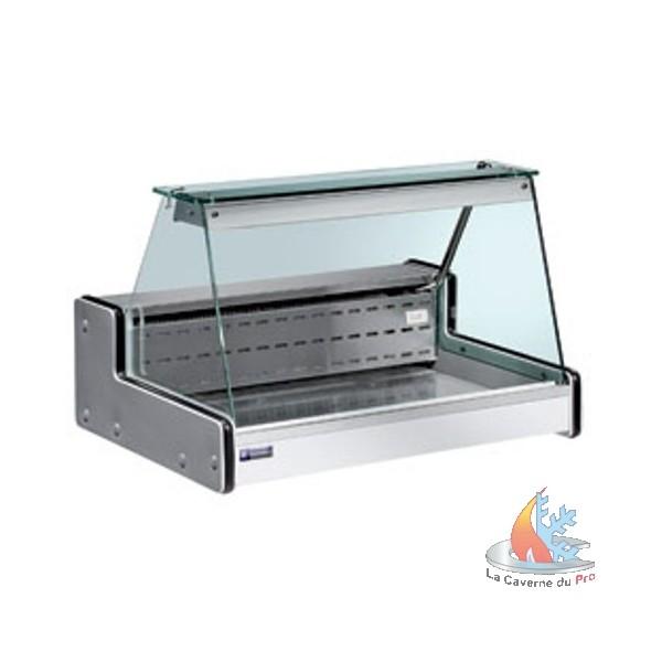 vitrine r frig r e a poser vitre droite 2000x750xh650mm. Black Bedroom Furniture Sets. Home Design Ideas