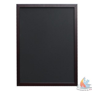 tableau menus ardoise noir 30x45 cm. Black Bedroom Furniture Sets. Home Design Ideas