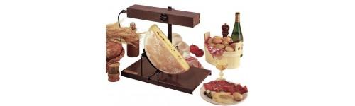 Raclette - Appareil a fondu en fonte ...